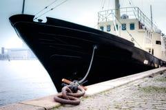 Docked ship Royalty Free Stock Photos