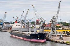 Docked ship Royalty Free Stock Photo