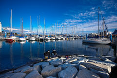 Free Docked Yachts 02 Royalty Free Stock Images - 17962419