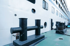 Docked in the Yangtze River cruise Stock Photos