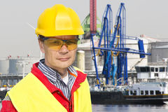 Docker royalty free stock photography