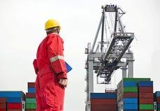 Docker royalty free stock images