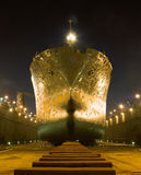 During the docking. Ship in the dock renovation Royalty Free Stock Photography