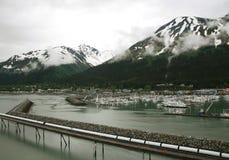 Docking in Alaska Royalty Free Stock Photography