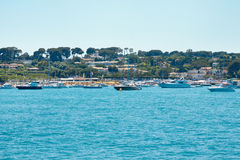 Docking bay for Yacht in Cannes (France) Royalty Free Stock Images