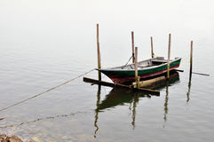 Docking Boat Stock Image