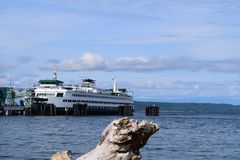 Docking Ferry stock photo