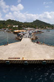 Docking in Honduras Royalty Free Stock Images