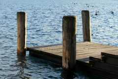 Docking on the pier Royalty Free Stock Images