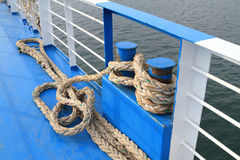 Docking rope Stock Photography