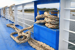 Docking rope Stock Photos