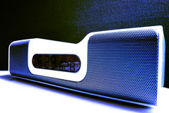 Docking station (blue) Royalty Free Stock Image