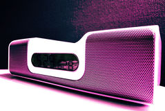 Docking station (pink) Royalty Free Stock Photo