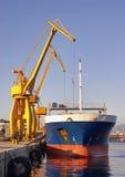 Docking Works Royalty Free Stock Photos