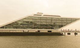 The Dockland building in Hamburg, Germany Stock Image