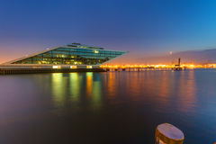 The Dockland building in Hamburg Royalty Free Stock Images