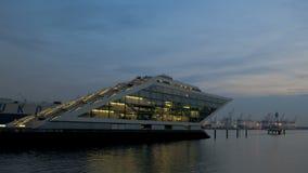 Dockland Hamburgo de Timelapse metrajes