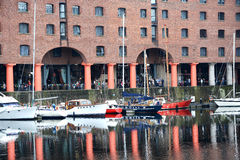 Dockland Liverpool Royalty Free Stock Photography