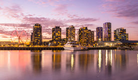 Dockland, Melbourne, Australia. Royalty Free Stock Image