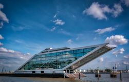 Dockland. Modern building in Hamburg, Germany Stock Images