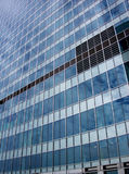 Docklands 226. This is a close up of an Office in London's Docklands Stock Photo
