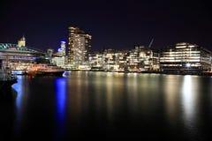 Docklands de Melbourne imagen de archivo