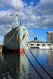 Docklands di Melbourne Fotografia Stock Libera da Diritti