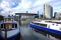 Docklands di Melbourne Fotografia Stock