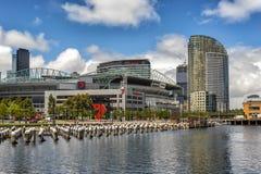 7 Docklands di Netork Melbournes Fotografia Stock Libera da Diritti