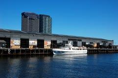 Docklands en Melbourne, Victoria, Australia Fotografía de archivo