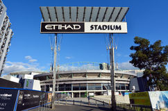 Docklands Etihad Stadium - Melbourne Royalty Free Stock Photo