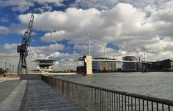 Docklands, Excel Londyn, Wielki Brytania Zdjęcia Stock