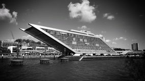 Docklands Hamburg stock photography