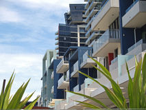 Docklands High Rise 1. Residential apartments at Dockside, Melbourne Australia Royalty Free Stock Photos