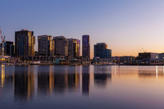 Docklands high rise residential buildings Stock Image