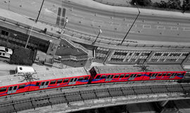 Docklands Light Rail Train Royalty Free Stock Photo