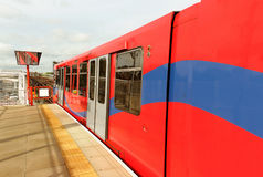 Docklands Light Railway. Royalty Free Stock Photography