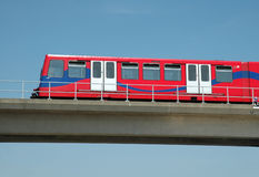 Docklands Light Railway, London Stock Images