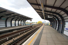 Docklands Light Railway Station Royalty Free Stock Photography