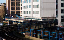 Docklands Light Railway Royalty Free Stock Images