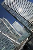 Docklands Londen Royalty-vrije Stock Foto's
