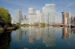 docklands London s Obrazy Royalty Free