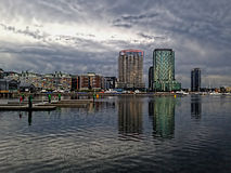 Docklands Melbourne Australia Royalty Free Stock Photography