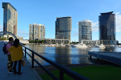Docklands Melbourne  Victoria Stock Photography