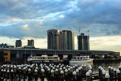 Docklands. In Melbourne Victoria Australia Stock Photo