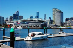 Docklands in Melbourne, Victoria, Australia Royalty Free Stock Images