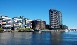 Docklands in Melbourne, Victoria, Australia Stock Images