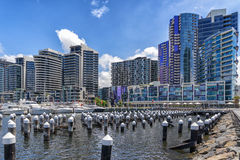 Docklands in Melbourne Royalty Free Stock Image