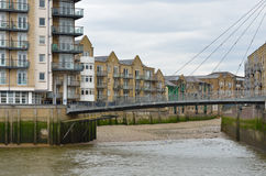 Docklands Residential Scene Stock Photos