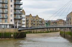 Docklands Residential Scene Stock Photos